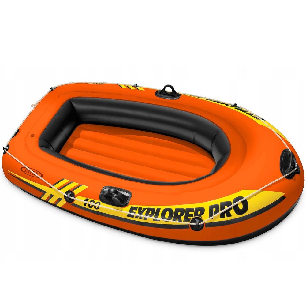 Лодка надувная INTEX EXPLORER PRO 100, 160x94x29 см лодка надувная hibernia et80
