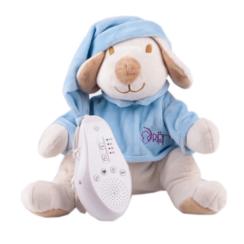 DrЁma Игрушка-комфортер для сна Собачка голубая