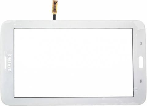 Тачскрин (сенсорное стекло) для Samsung Galaxy Tab 3 7.0 Lite T110 (Оригинал, белый)