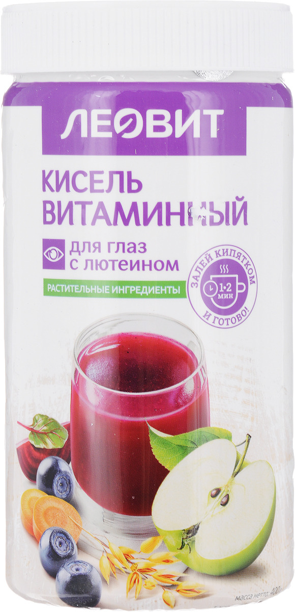 БиоИнновации Кисель витаминный для глаз с лютеином, 400 г недорого