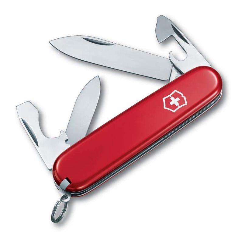 Нож перочинный Victorinox Recruit (0.2503) 84мм 10функций красный карт.коробка