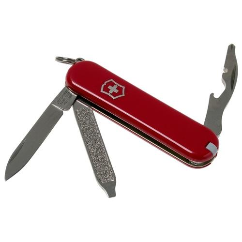Нож перочинный Victorinox Rally (0.6163-012) 58мм 9функций красный подар.коробка