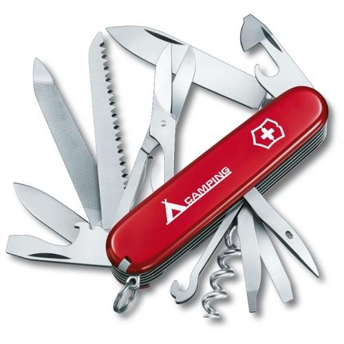 Нож перочинный Victorinox Ranger Camping (1.3763.71) 91мм 21 функций карт.коробка