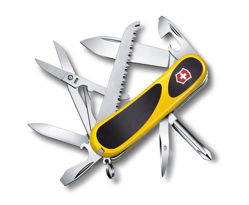 Нож перочинный Victorinox EvoGrip 18 (2.4913.C8) 85мм 15 функций карт.коробка