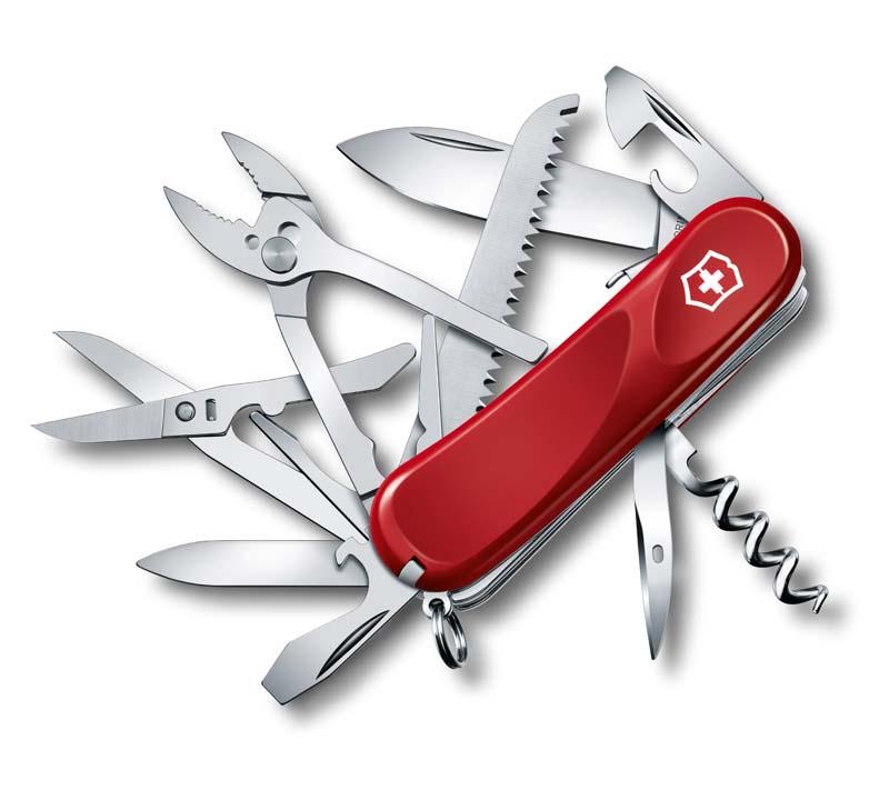 Нож перочинный Victorinox Evolution S52 (2.3953.SE) 85 мм 20 функций кар.коробка