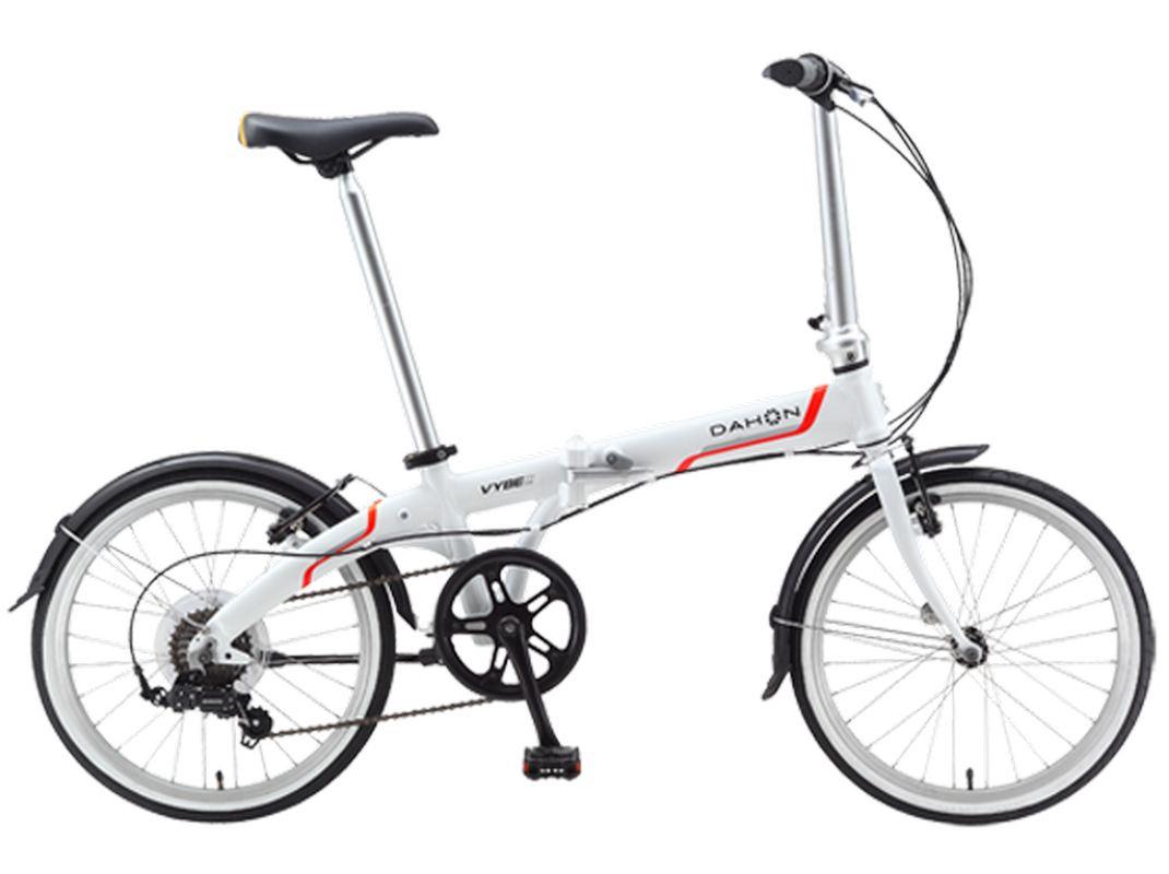 Велосипед складной DAHON Vybe D7 Frost, колёса 20, 7 скоростей top gear велосипед складной 20 eco 6 скоростей синий внс2086