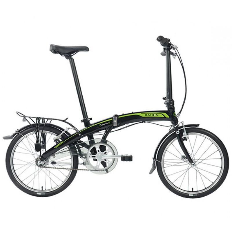 цена на Велосипед складной DAHON Curve i3-20 Obsidian, колёса 20, 3 скорости