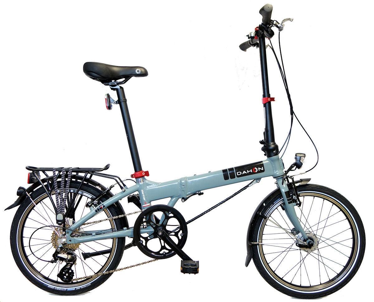 цена на Велосипед складной DAHON MARINER D8 синий, 8 скоростей