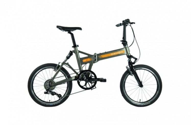 Складной велосипед Dahon Jet D9 Matt Pewter, рама алюминиевая, колёса 20, 9 скоростей