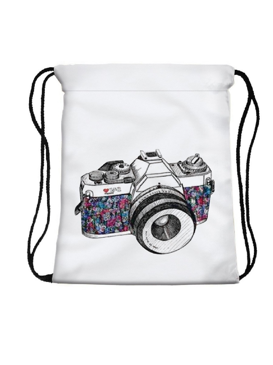 Фото - Сумка-мешок для сменной обуви Camera micro camera compact telephoto camera bag black olive