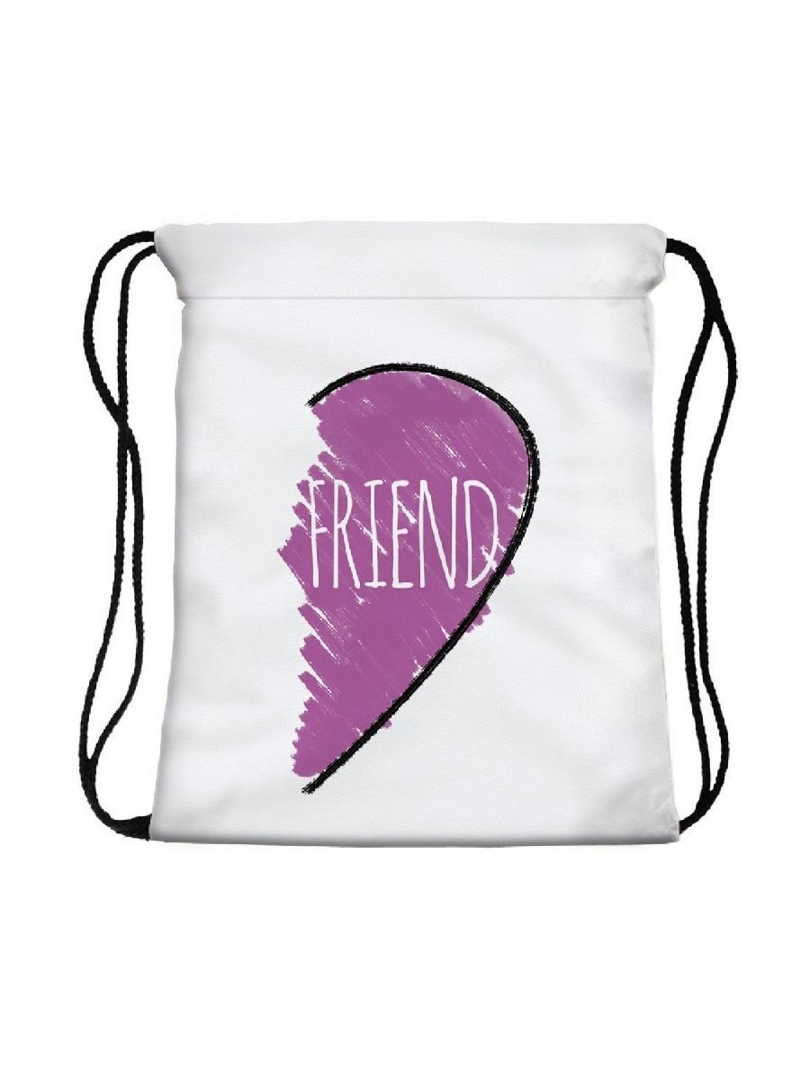 Сумка-мешок для сменной обуви Friend Heart сумка мешок rich homsu сумка мешок rich page 11