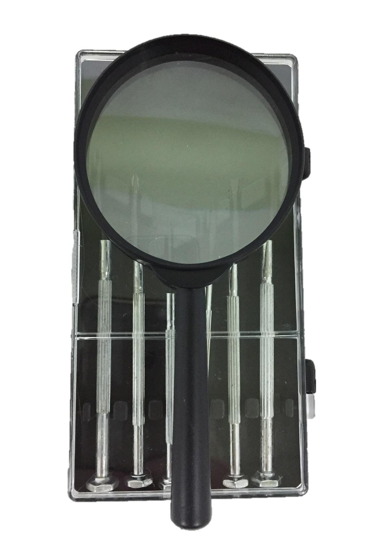 Набор отверток с увеличительным стеклом (6 шт), AGP стоимость