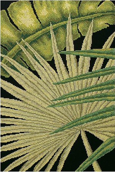 Набор для вышивания РТО Пальмовые листья - 2 (30 x 45 см.) набор для вышивания крестом рто 3 5 х 5 5 см fa011