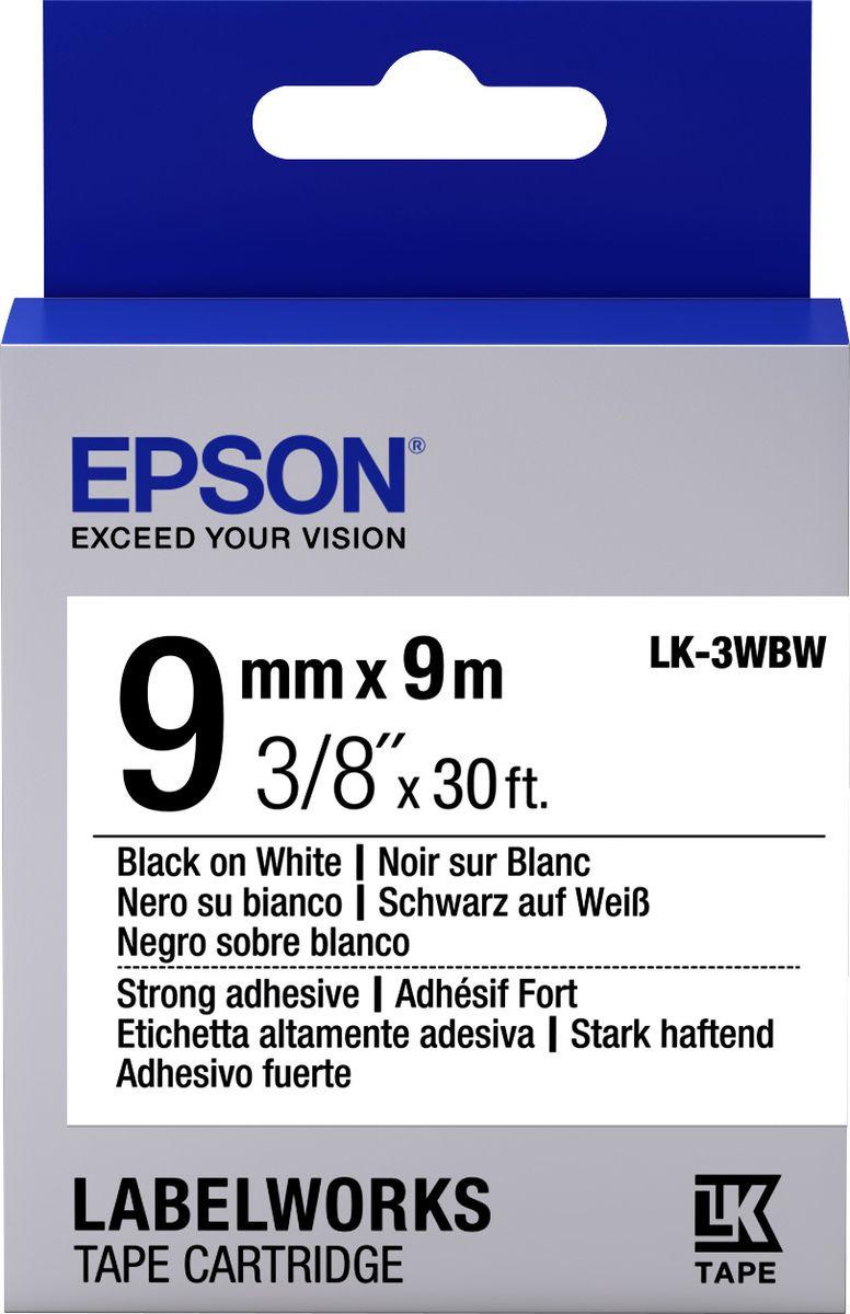 Картридж Epson для LabelWorks LW-300/LW-400/LW-400VP/LW-700/LW-900P, C53S653007, оригинальный, белый цена