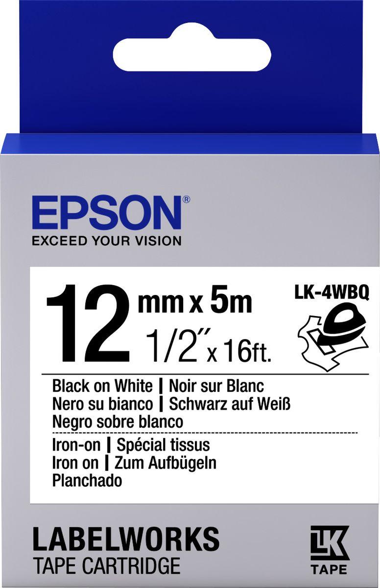Картридж Epson для LabelWorks LW-300/LW-400/LW-400VP/LW-700/LW-900P, C53S654024, оригинальный, белый цена