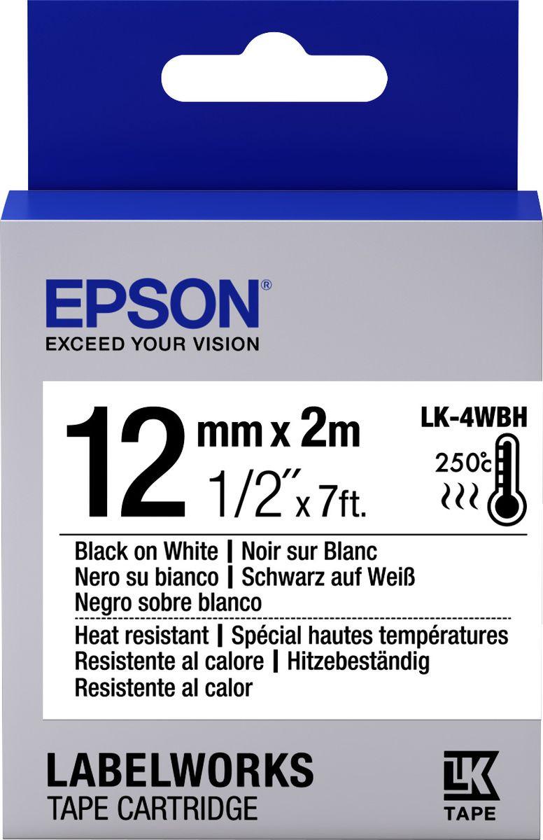 Картридж Epson для LabelWorks LW-300/LW-400/LW-400VP/LW-700/LW-900P, C53S654025, оригинальный, белый цена