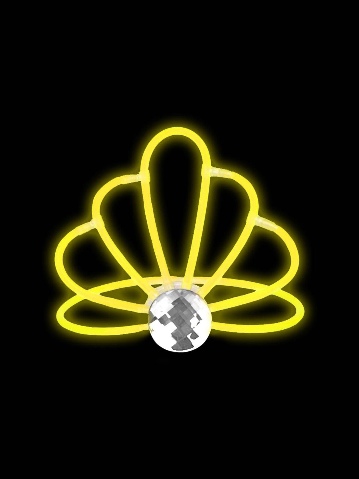 Светящаяся диадема для карнавалов Magic Time, 80253, желтый