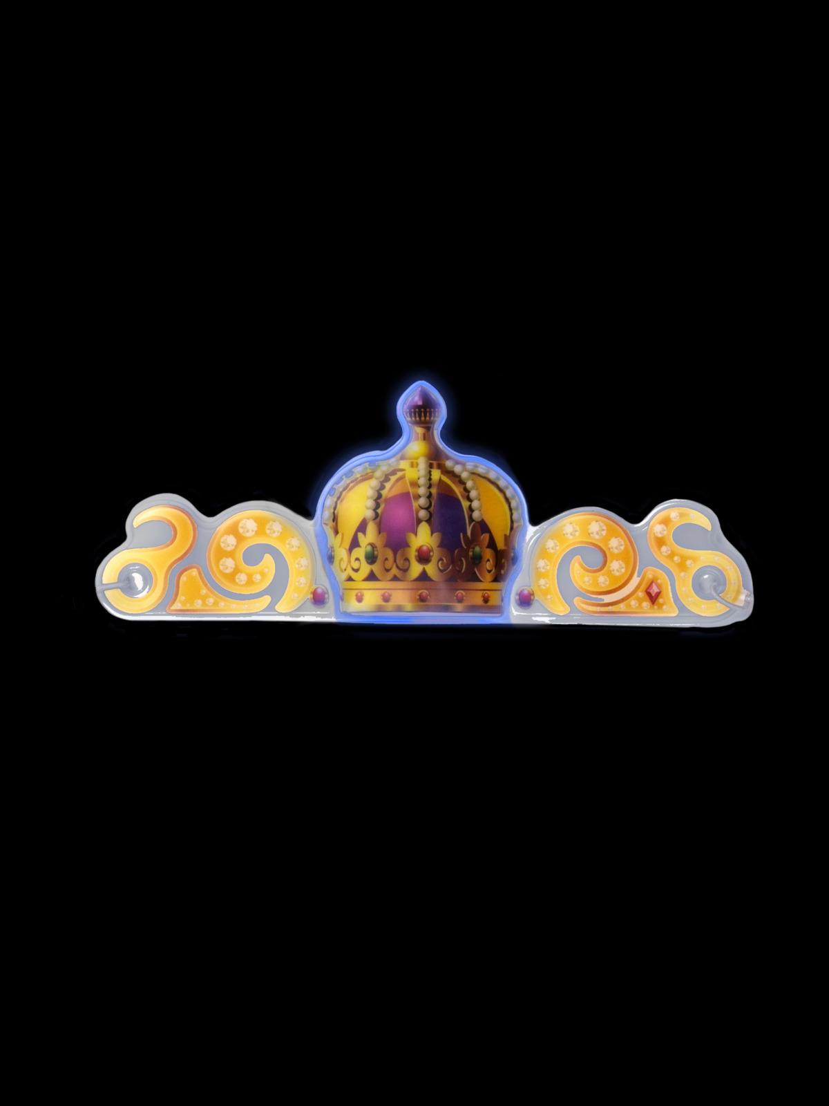 Светящаяся диадема для карнавалов Magic Time, 80254, разноцветный