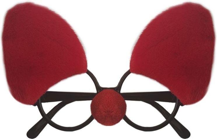 Очки карнавальные Magic Time, 80985, красный, 19 х 11 х 4 см