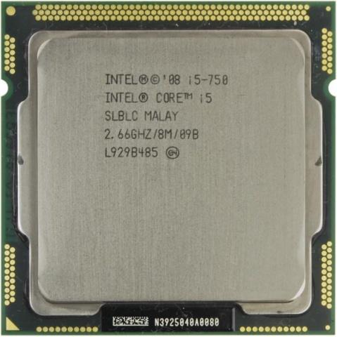 Intel Core i5-750 (2667MHz, LGA1156, L3 8192Kb) shipping original intel core i5 760 slbrp processor 2 8 ghz 8mb cache socket lga1156 45nm desktop cpu i5 760