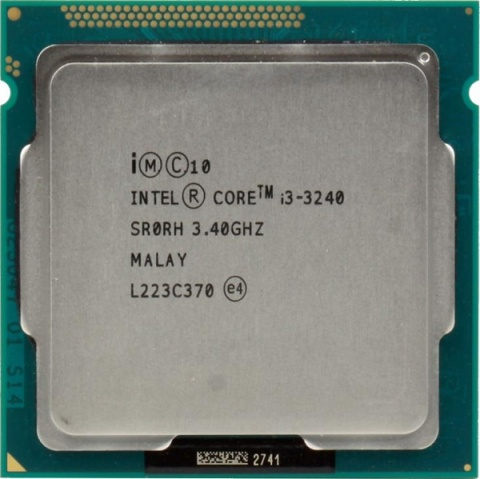 Процессор Intel Core i3-3240 Ivy Bridge (3400MHz, LGA1155, L3 3072Kb) OEM intel core i3 2100 sandy bridge 3 1ghz lga 1155 65w dual core desktop processor