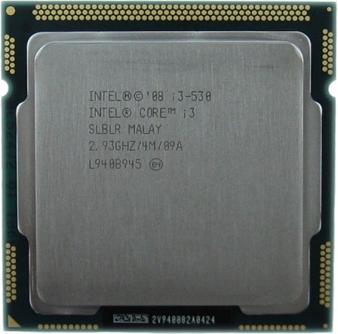 Процессор Intel Core i3-530 (2933MHz, LGA1156, L3 4096Kb) все цены