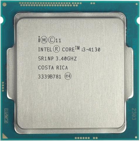 цена Процессор Intel Core i3-4130 Haswell (3400MHz, LGA1150, L3 3072Kb) OEM