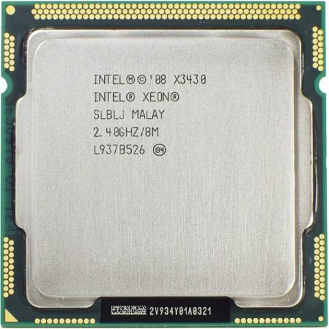 Процессор Intel Xeon X3430 Lynnfield (2400MHz, LGA1156, L3 8192Kb) OEM Intel