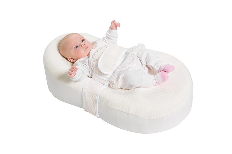 Матрас-кокон для новорожденных Dolce Cocon цвет бежевы 70 х 41 х 18 см + дополнительная наволочка