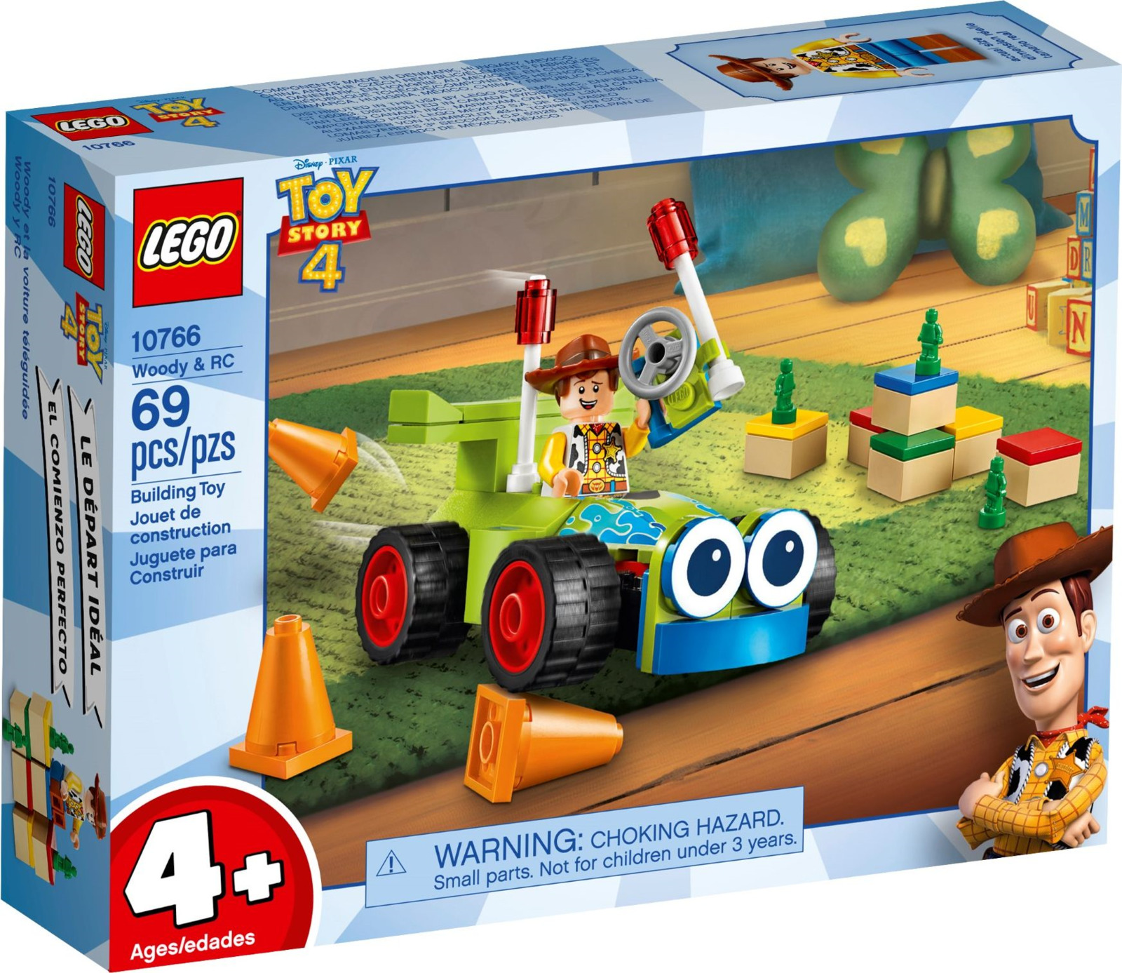 Пластиковый конструктор LEGO 10766