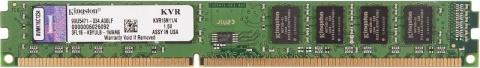 Модуль оперативной памяти Kingston KVR16N11/4 DIMM DDR3, 4GB, PC12800, 1600МГц модуль памяти dimm 8gb ddr3l pc12800 1600mhz kingston kvr16ln11 8
