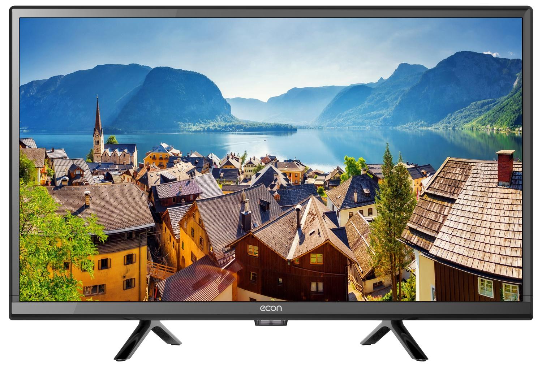 """Телевизор ECON LED FULL HD, 22"""", с встроенным цифровым тюнером, с функцией """"Отель"""" 22"""", черный"""