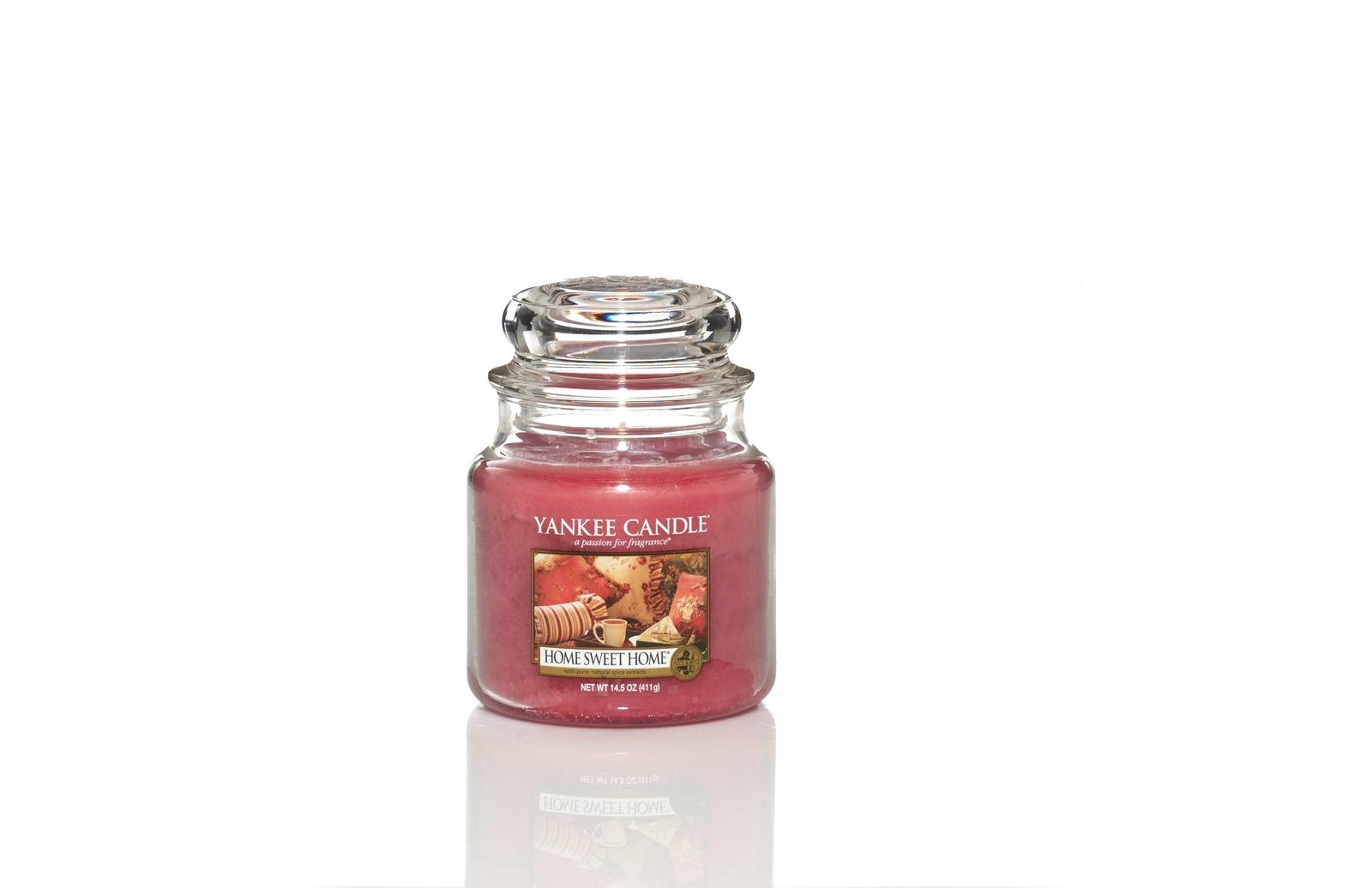 Свеча ароматическая Yankee Candle Дом милый дом/ Home sweet home 65-90 ч свеча столбик уютный мускус actuel ароматическая