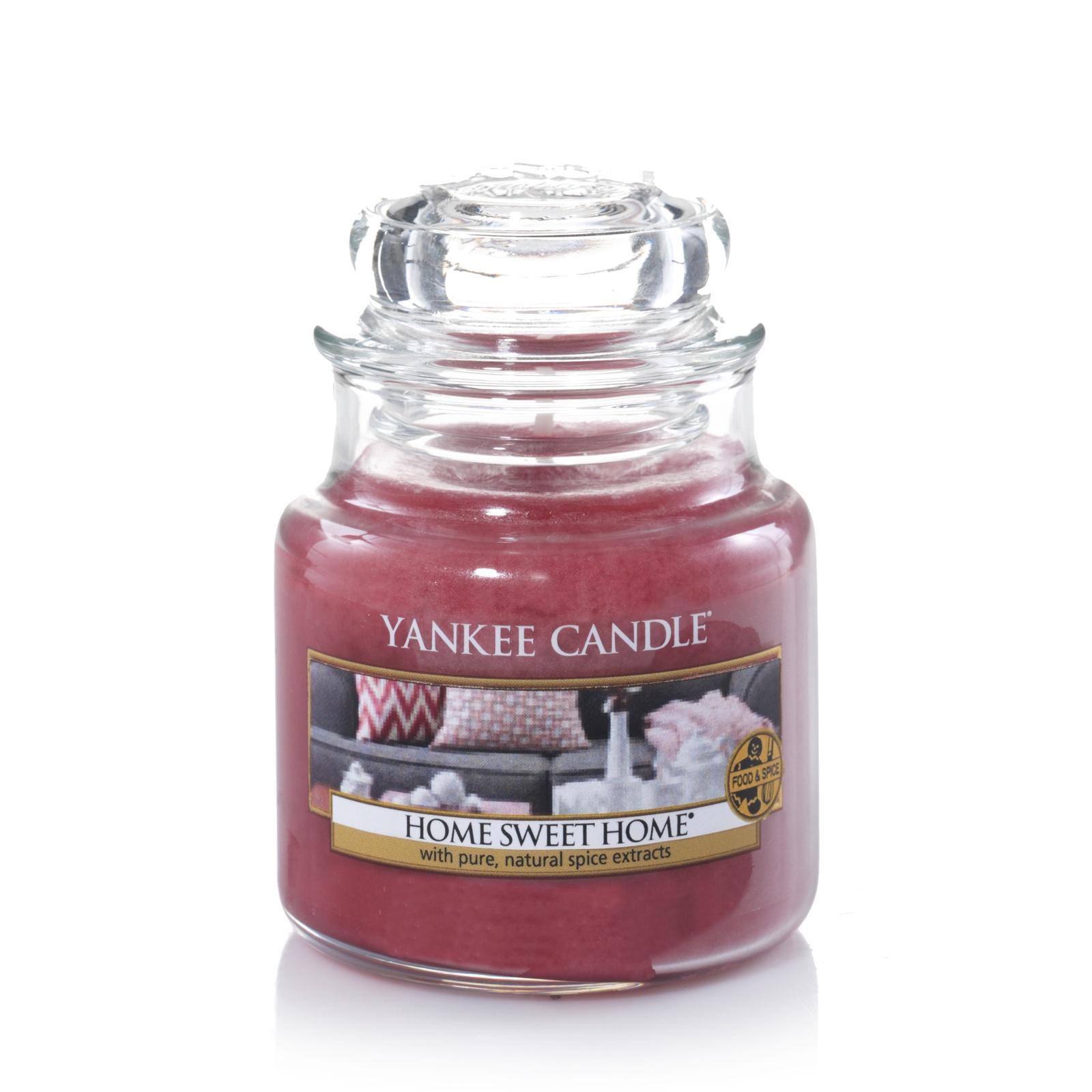 Свеча ароматическая Yankee Candle Дом милый дом/ Home sweet home 25-40 ч свеча столбик уютный мускус actuel ароматическая