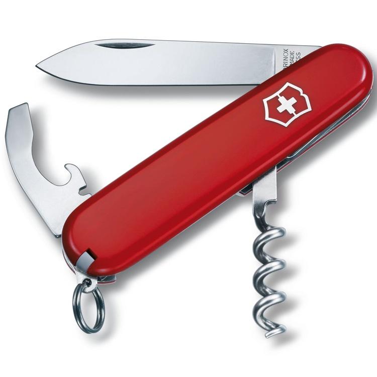 цены на Нож перочинный Victorinox Waiter - Красный (0.3303)  в интернет-магазинах