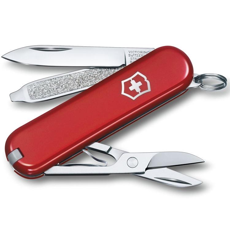 Нож перочинный Victorinox Classic - Красный (0.6223-012)