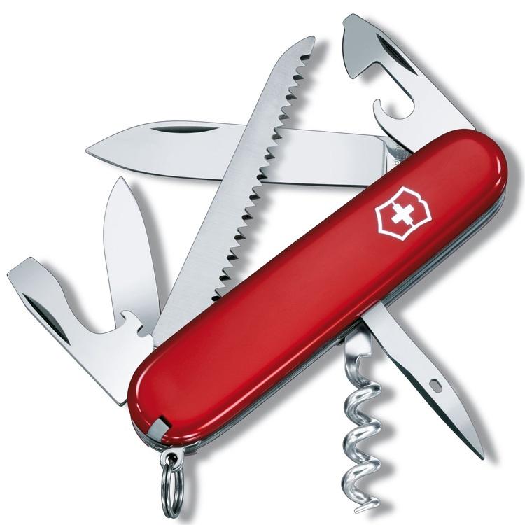 Нож перочинный Victorinox Camper - Красный (1.3613)