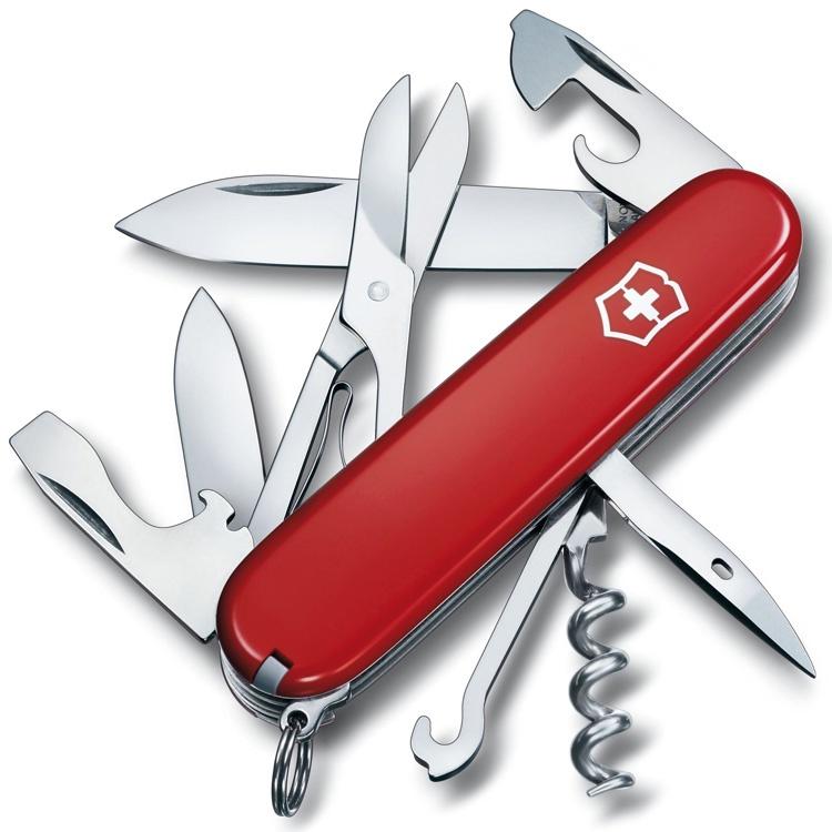 Нож перочинный Victorinox Climber - Красный (1.3703)