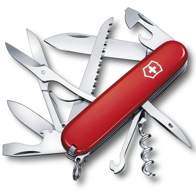 Нож перочинный Victorinox Huntsman - Красный (1.3713)