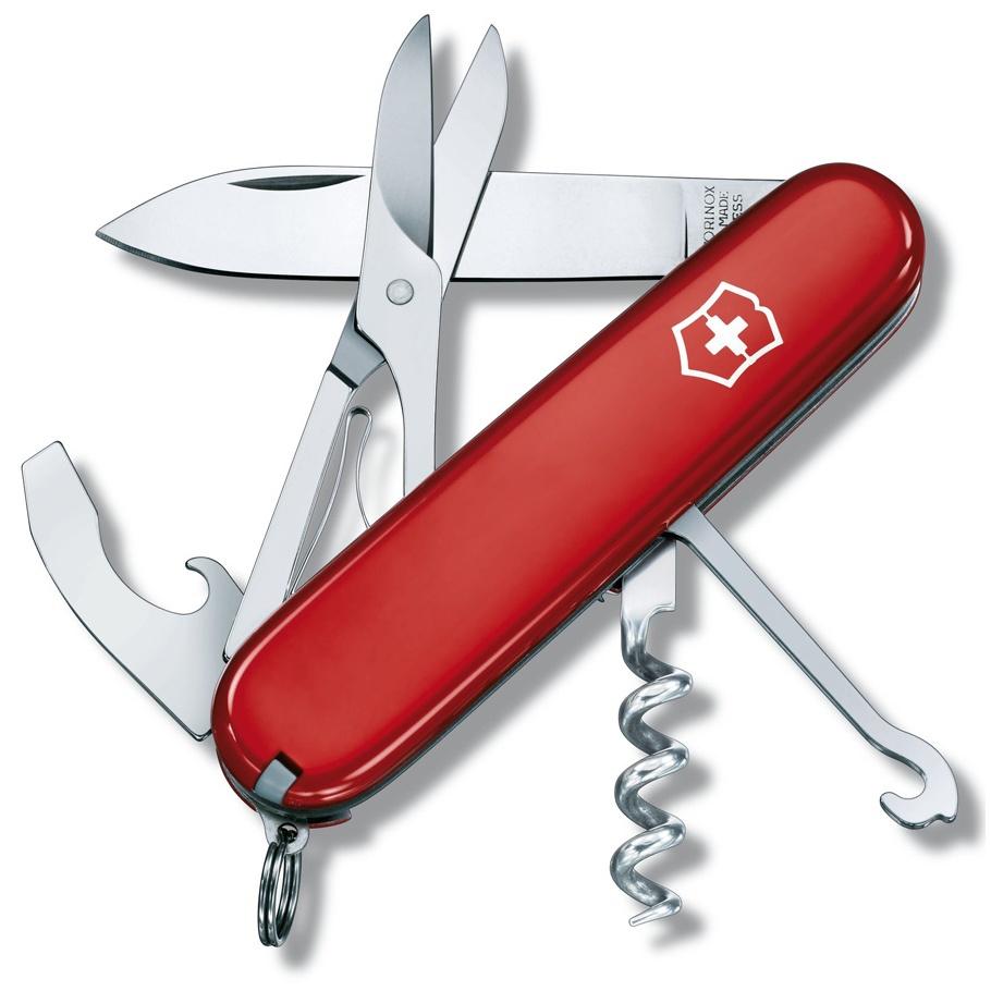 Нож перочинный Victorinox Compact - Красный (1.3405)