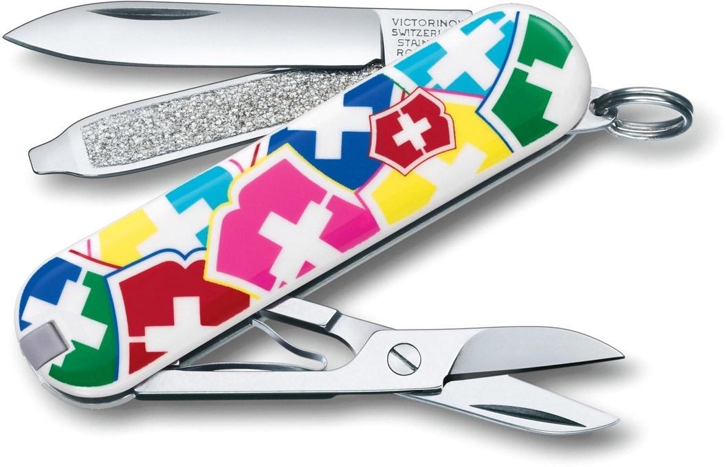 "Нож перочинный Victorinox Spartan VX Colors"" (1.3603.841) 91мм 12 функций карт.коробка"