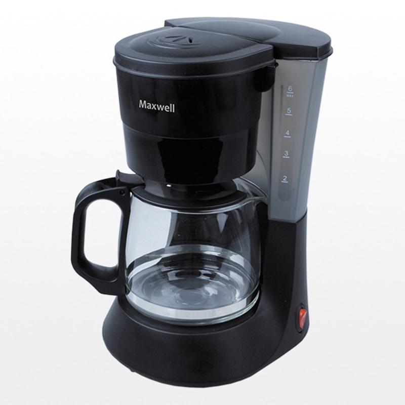 Кофеварка Maxwell MW-1650 BK