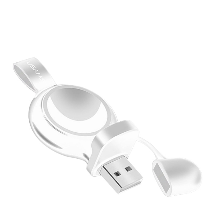 Зарядное устройство USAMS US-CC061 для Apple Watch Белое цена