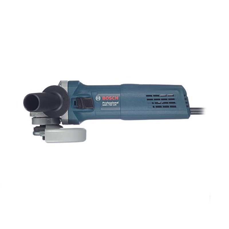 Машина шлифовальная угловая Bosch GWS750-125 hyundai g 800 125 expert угловая шлифовальная машина blue