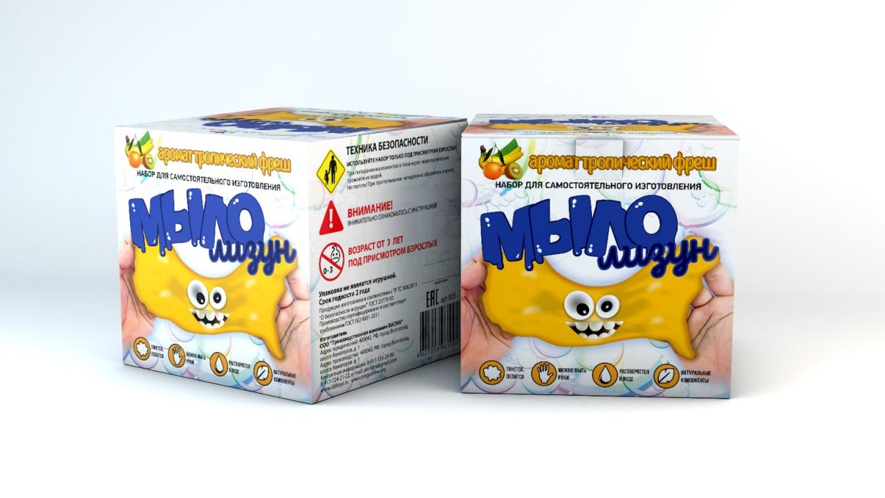 Набор для опытов ИННОВАЦИИ ДЛЯ ДЕТЕЙ Мыло-лизун Тропический фреш набор для опытов инновации для детей 835 мыло лизун тропический фреш