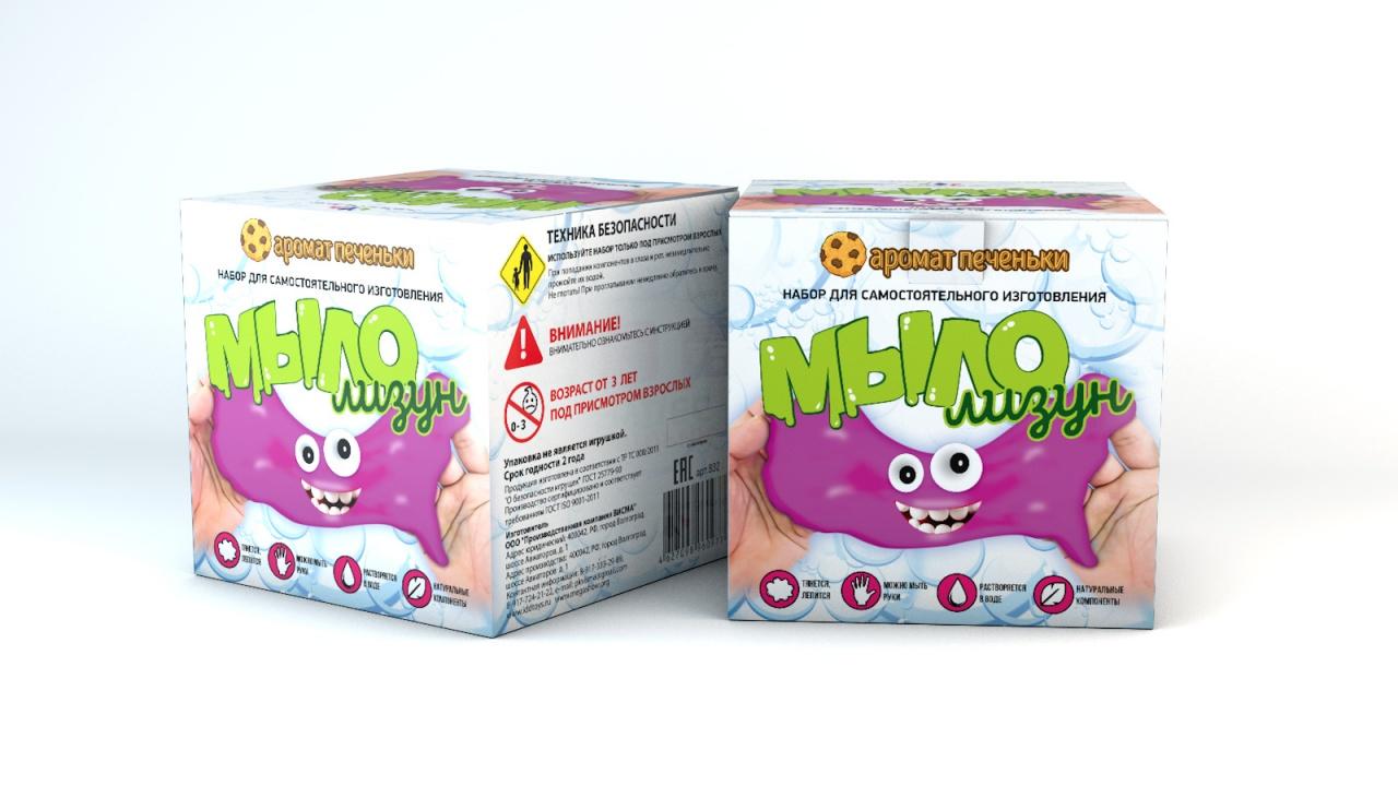 Набор для опытов ИННОВАЦИИ ДЛЯ ДЕТЕЙ Мыло-лизун Печенька набор для опытов инновации для детей 835 мыло лизун тропический фреш