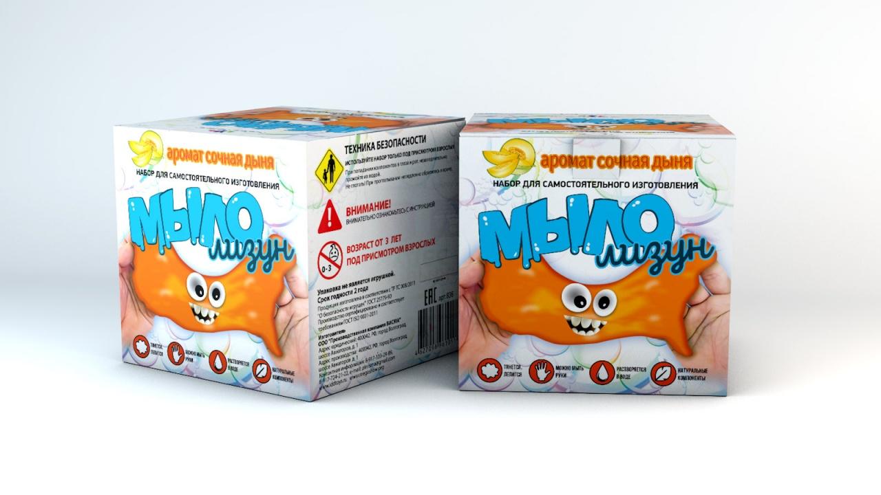 Набор для опытов ИННОВАЦИИ ДЛЯ ДЕТЕЙ Мыло-лизун Сочная дыня набор для опытов инновации для детей 835 мыло лизун тропический фреш