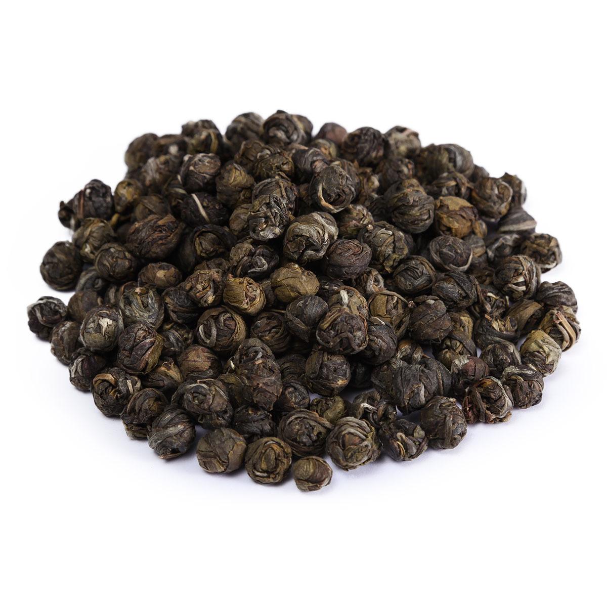 Чай листовой Первая Чайная Компания Хуа Лун Чжу Жасминовый дракон, травяной, 100 г сад дань чай травяной чай жасминовый чай жасминовый чай типпи 100г мешок