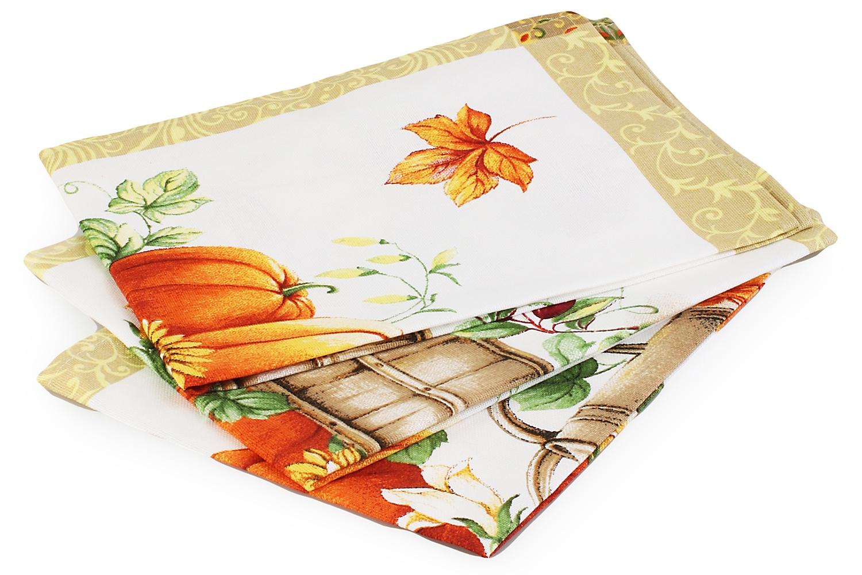 Набор из 3х кухонных полотенец Domo Vita. ДВ-4314142 набор кухонных полотенец из 3х штук прованс 45х60domo vita дв 2936851