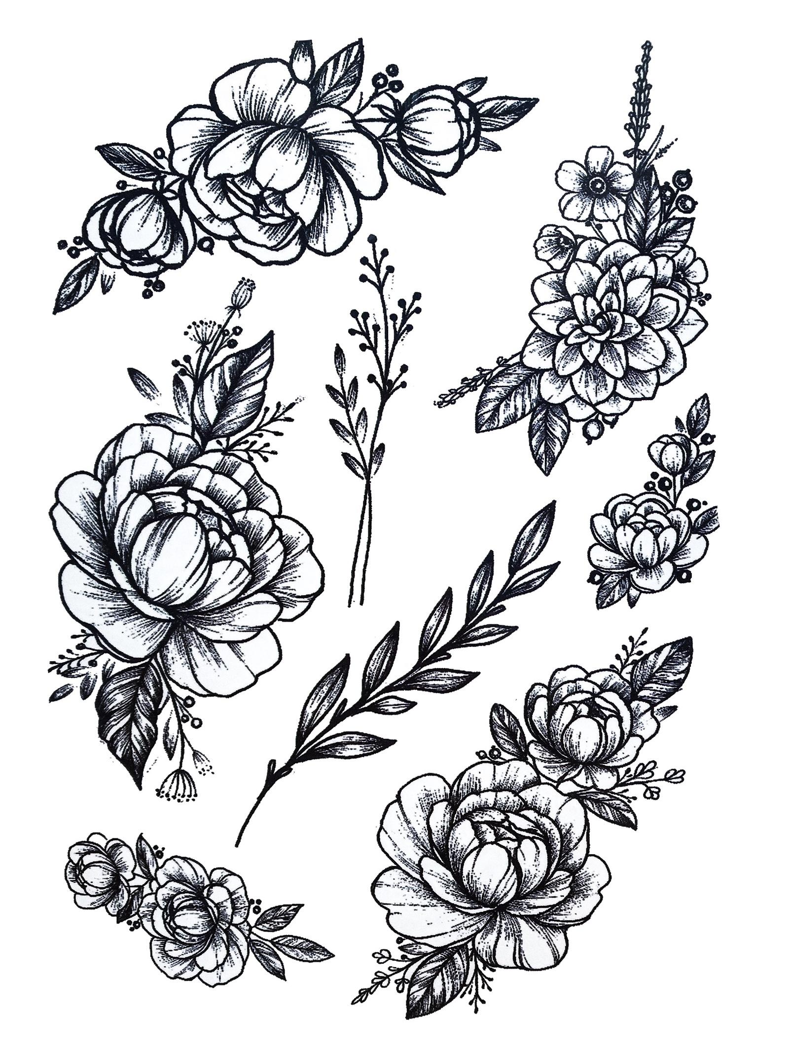 картинки переводных татуировок амелл